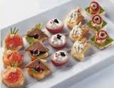 Tilltugg mat verkstan k k catering i uppsala for Canape garnishes